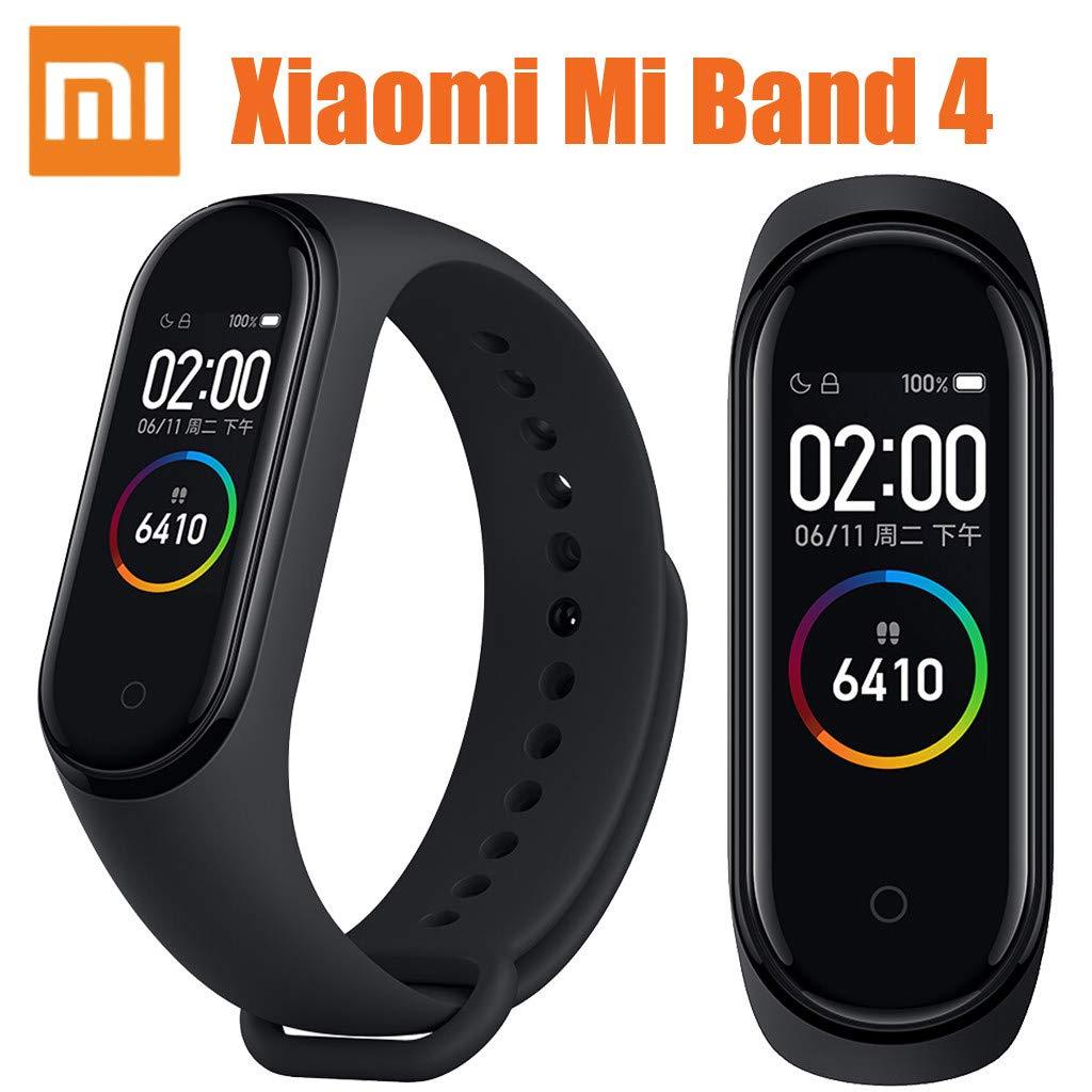 Lovewe Xiaomi Mi Band 4 0.95'' 3 Color AMOLED Screen Smart Bracelet Smartband Heart Rate Monitor Sleep Monitor Fitness Tracker Bluetooth Sport 5ATM Waterproof Smart Band