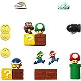 HXDZFX Super Mario Fridge Magnets - 18 PCS Refrigerator Magnets,Office Magnets,Calendar Magnet,Whiteboard Magnets…