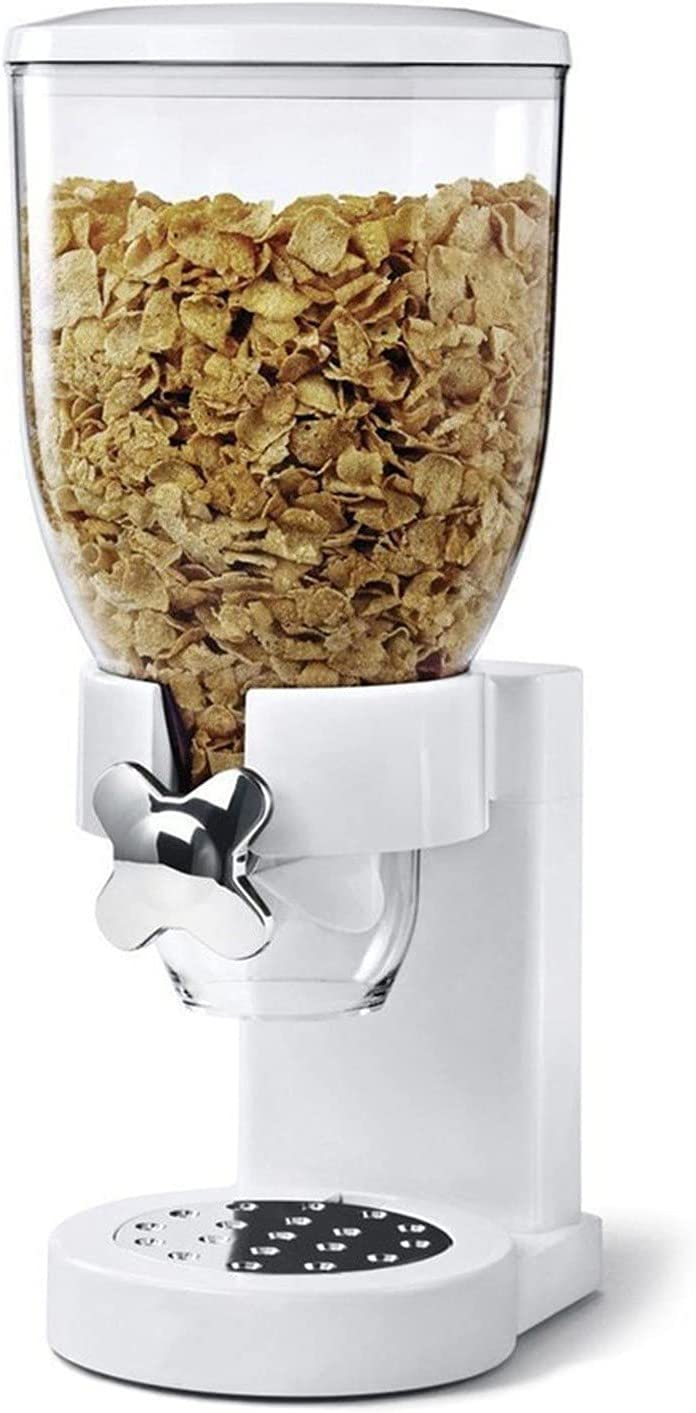 ZZAIXHL Canister Dry Food Cereal Dispenser Indispensable Dry Food Dispenser, Food Dispenser,Kitchen Breakfast Food Storage Practical Tools for The Home