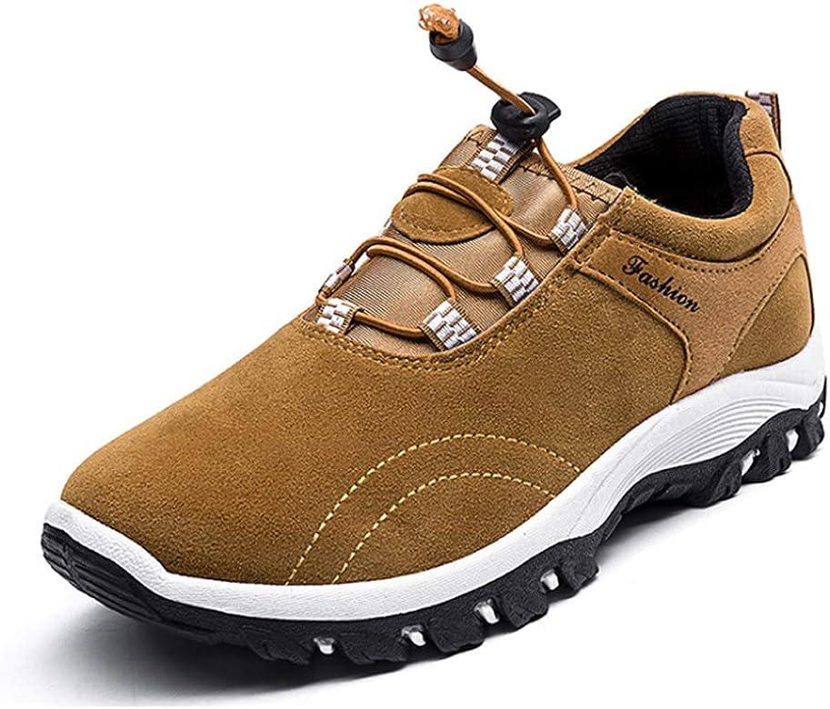 Daytwork Senderismo Botines Resistentes Zapatos Hombres - Trekking Aire Libre Corredores Ligero Botas Caminar Correr Cordones Deportes Moda: Amazon.es: Zapatos y complementos