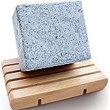 FOYAGE 梵颜 竹炭祛黑头手工浮皂 Bamboo Charcoal Soap 80g(吸附黑头 收缩毛孔)