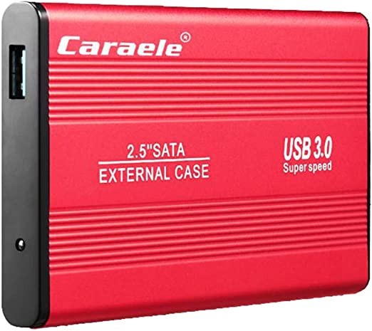 KESOTO 2.5インチ USB3.0 外付けハードディスク 高速 SATA HDDケース 2T/1T/500GB - 500GB