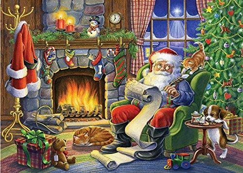 Naughty or Nice Christmas Card - Set of 15