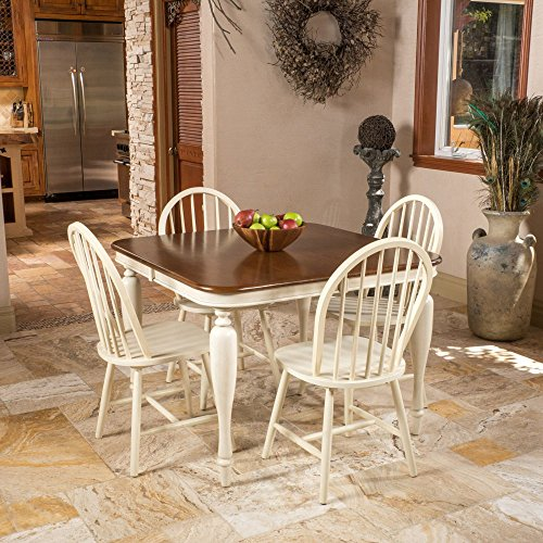 Best Selling Home Clemmie 5 Piece Square Dining Table Set