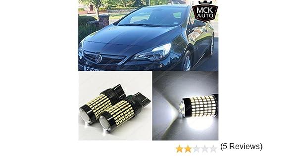 MCK Auto - Reemplazo para T20 W21 / 5W LED CanBus Conjunto de ...