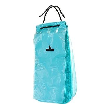 HaloVa Car Garbage Bag Traveling Portable Auto Seat Back Hanging Trash Disposable