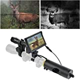 "BESTSIGHT Night Vision Scope for riflescopes with Night Scope Hunting Camera and 5"" Screen,Without Rifle Optic"