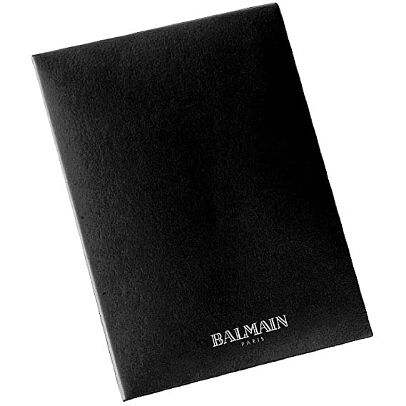 BALMAIN - Cartera para hombre unisex adulto marrón 10×6,5 cm ...