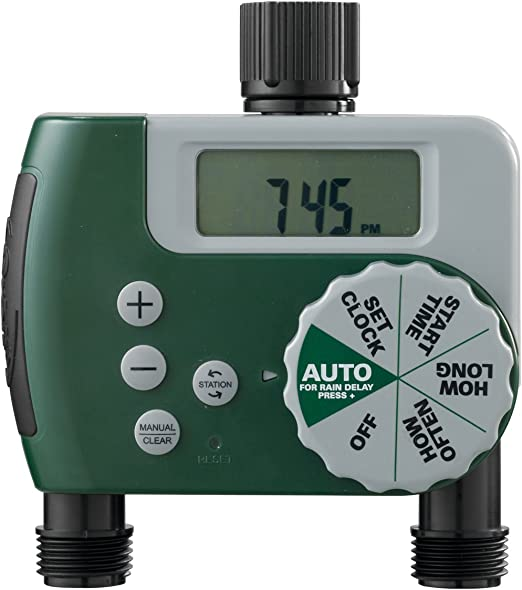 Orbit Single-Outlet Hose Watering Timer - Heavy-Duty