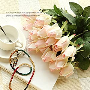 XGM GOU Artificial Fresh Rose Flowers Real Touch Latex Flowers Wedding Decoration Flower for Wedding Table Roses 34