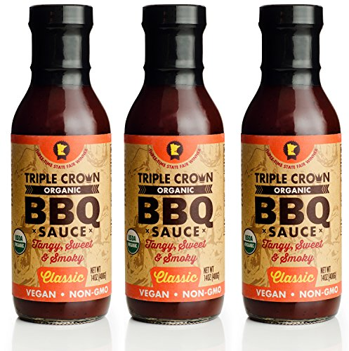 Triple Crown Organic BBQ Sauce Classic