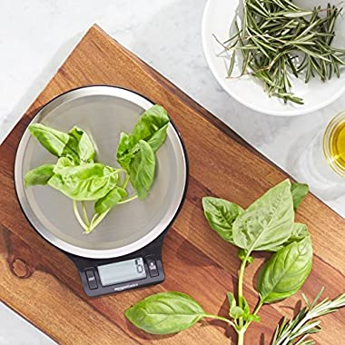 AmazonBasics Digital Kitchen Scale with LCD Display
