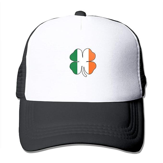 1097756e2beca Image Unavailable. Image not available for. Color  Toda Mafalda St.Patrick s  Day Shamrocks Irish Flag Baseball Caps ...