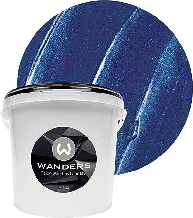 Wanders24 Effet Métal 3 L Bleu Foncé Peinture à Effet