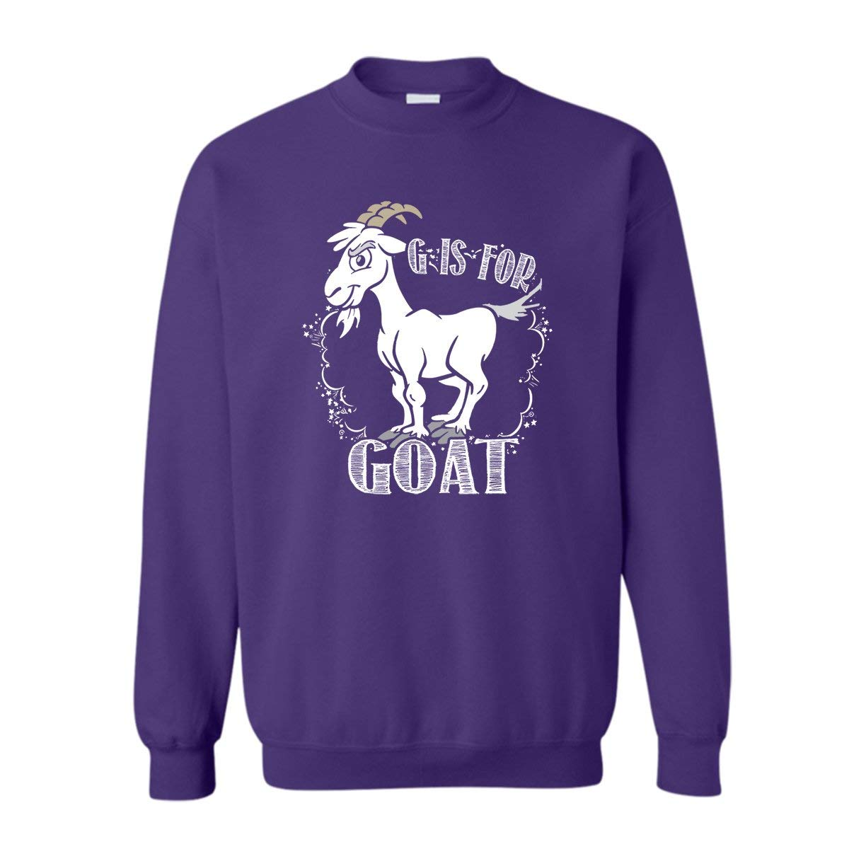 Amazon.com  Zira-S Cool G is for Goat Pullover T Shirt c48a7dd571