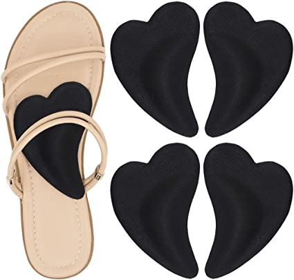 2 Pairs Foot Care Shoes Inserts Pads Sole Insole Men Women Plantar Fasciitis