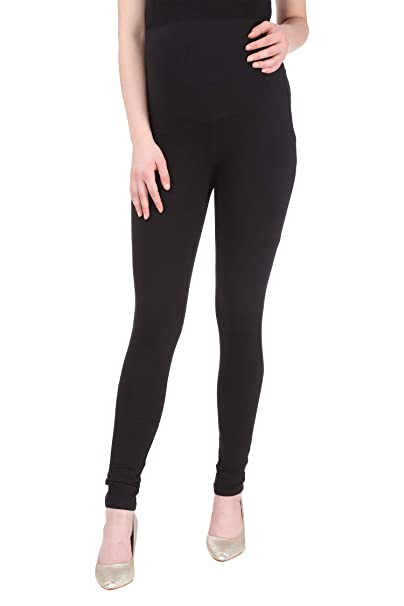 974d5313e53 MomToBe Women s Lycra Maternity Leggings  Amazon.in  Clothing ...