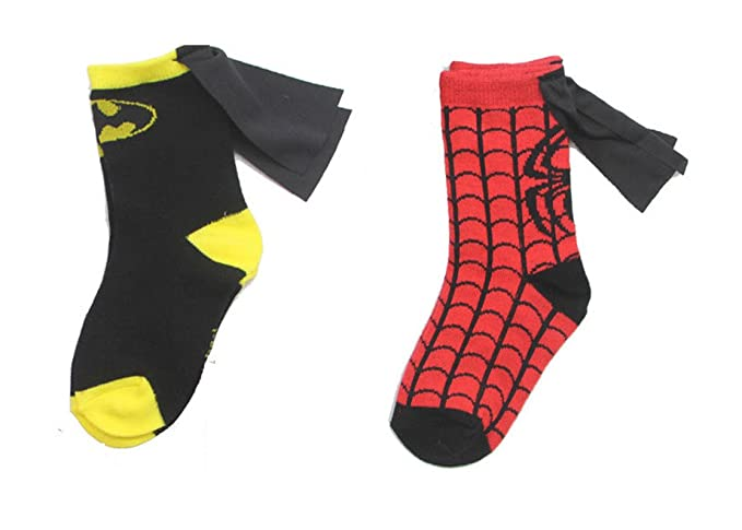 63e394182dc Rush Dance Unisex Kids Children s Super Hero Knee High Socks with Cape (One  Size