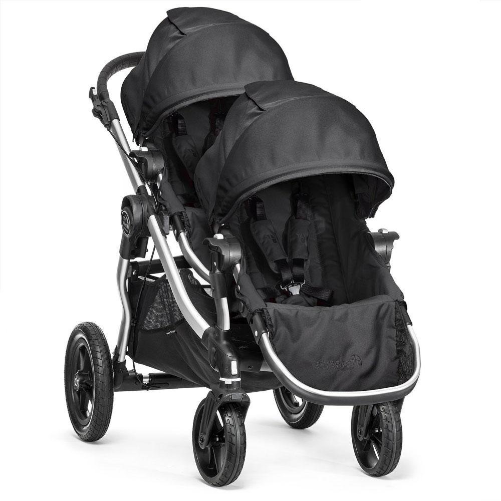 2016 Baby Jogger City Select With 2nd Seat, Onyx Silver