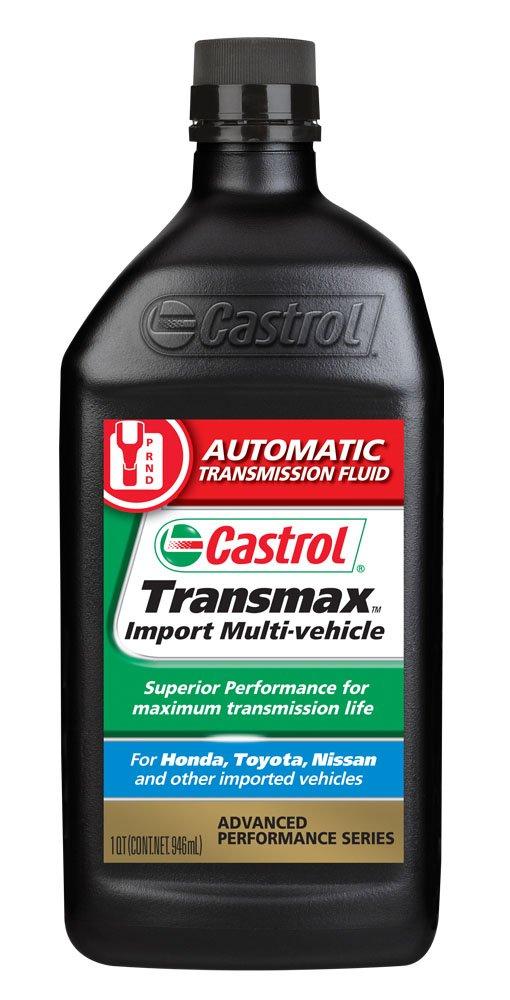 Castrol 06814-6PK Transmax Import Multi-Vehicle Automatic Transmission Fluid - 1 Quart, (Pack of 6)