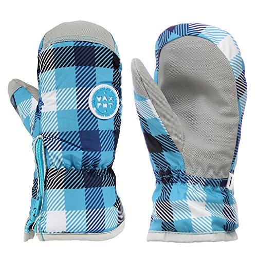 [해외]VAXPOT (백 냄비) 스키 장갑 벙어리 장갑 어린이 주니어 【 착 탈 가능한 사이드 오픈 】 VA-3958 / VAXPOT Ski Gloves Mittens Kids Junior [Easy To Detac