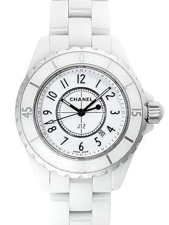 sports shoes 47e37 3a7b9 (シャネル) CHANEL 腕時計 J12 H0968 ホワイト レディース [並行輸入品]