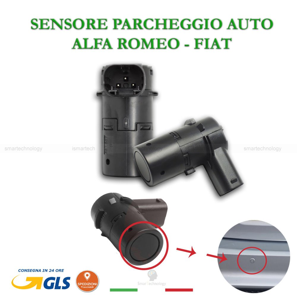 Sensores Aparcamiento PDC coche Vehí culos Alfa Romeo 147 159 166 Fiat Croma capacitivo OEM 735393479 156027152 Sensor de aparcamiento Parktronic Smartechnology