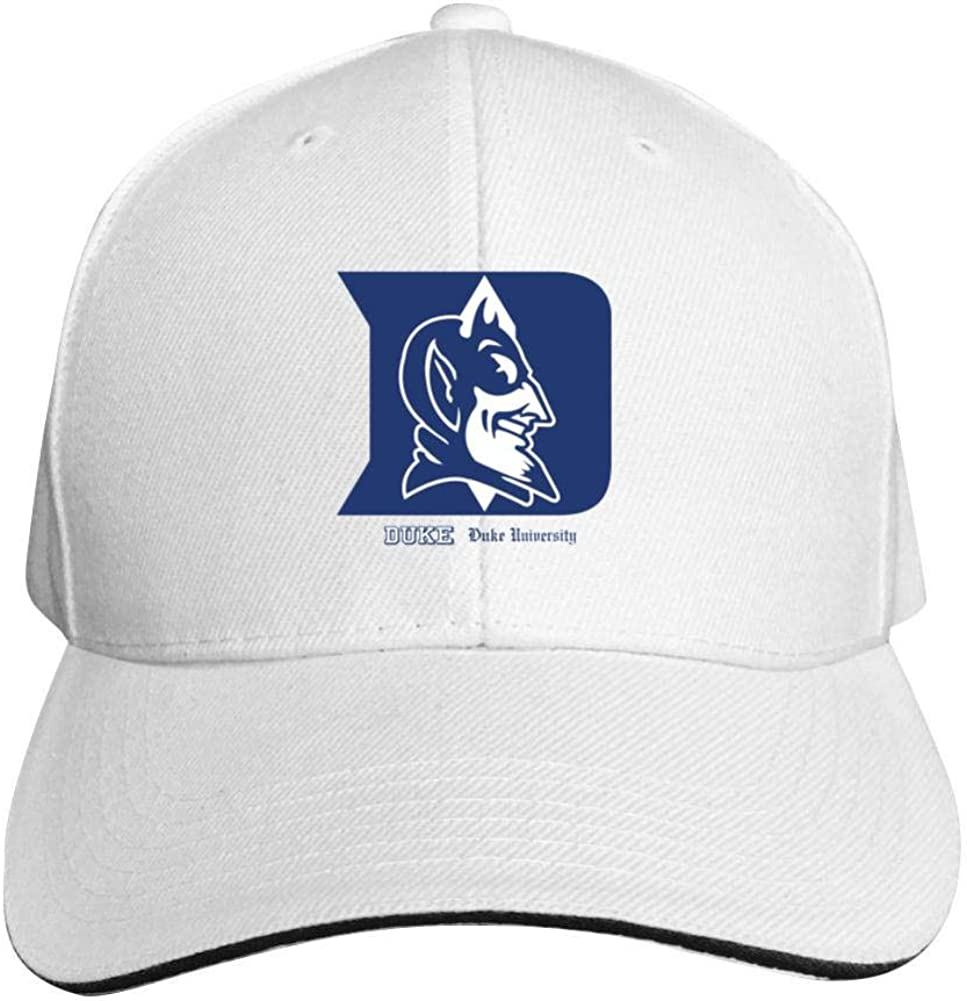 Crazy fish Duke Blue Devils Football Hat Neutral Adjustable Truck Driver Cap