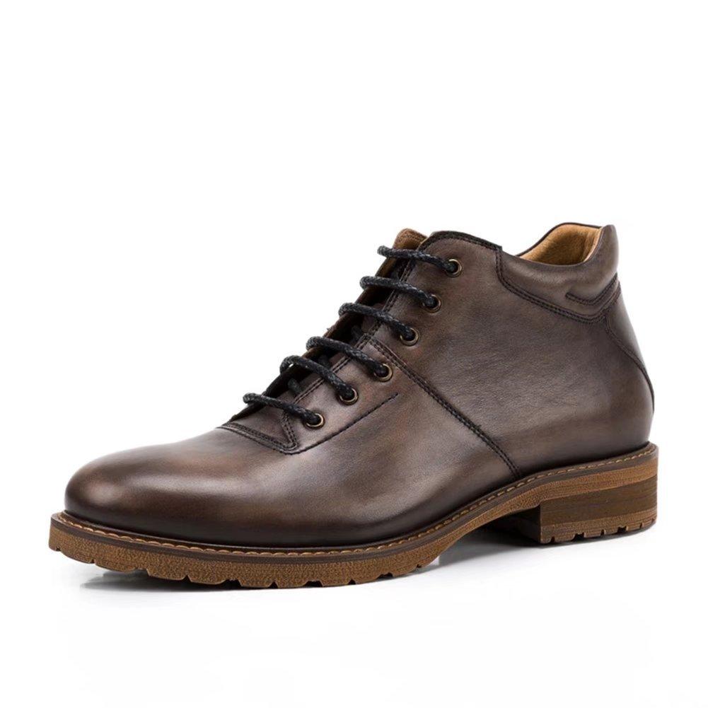 Fengbao 革靴 メンズ 本革 ビジネスシューズ 【高品質&クラシック】 イタリア 紳士靴 B077DY1YP6 25.0 cm|コーヒー コーヒー 25.0 cm