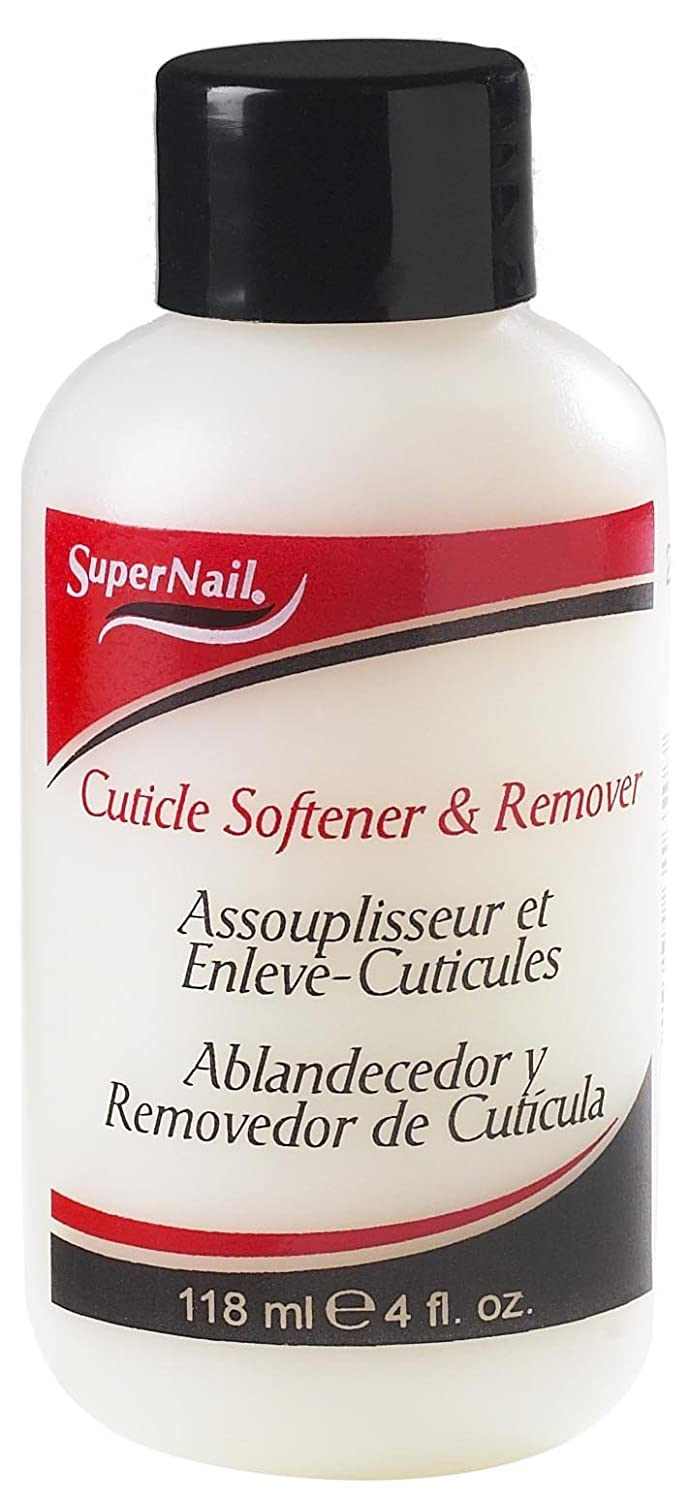 Amazon.com : Supernail Cuticle Softener and Remover, 4-Ounce (Pack ...