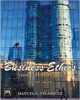 Business Ethics Manuel G Velasquez Pdf