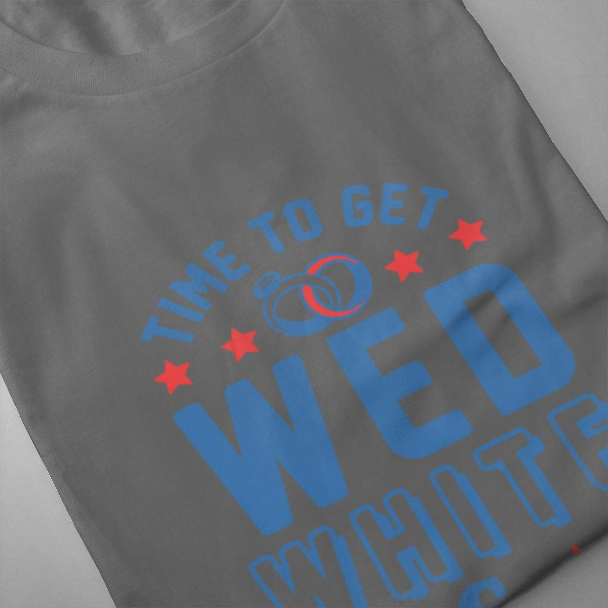 Seuriamin Time to Get Wed White /& Boozed Men Humor Running Short Sleeve T-Shirt