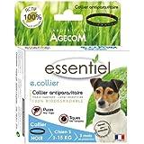 Essentiel - Produit Naturel - Collier pour chiens anti tiques et puces 100% naturel - Essentiel (Petits chiens ( - de 15kg))
