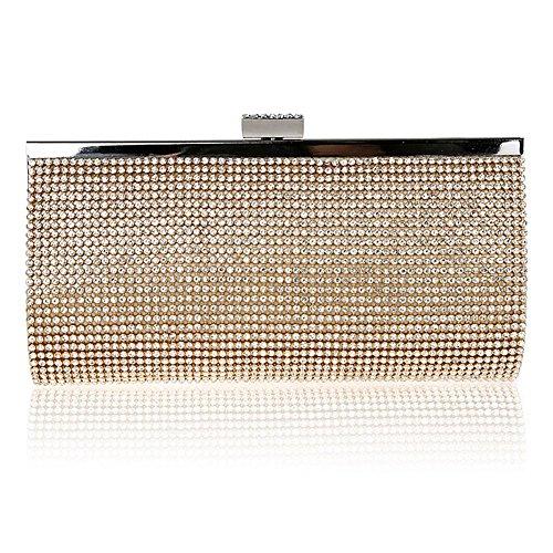 SSMK Evening Bag - Cartera de mano para mujer dorado