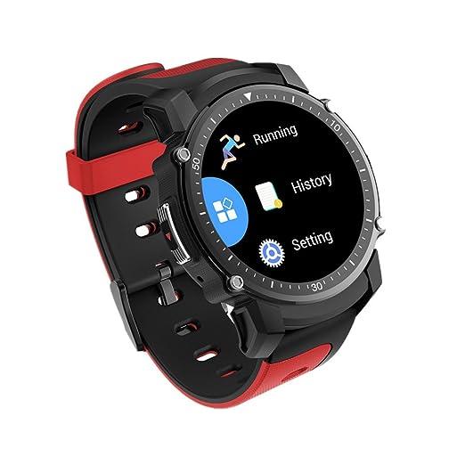 FS08 Smartwatch MTK2503 GPS IP68 Reloj resistente al agua con Bluetooth Reloj de ritmo cardíaco Multi-modo de monitoreo deportivo PARA IOS Andriod: ...