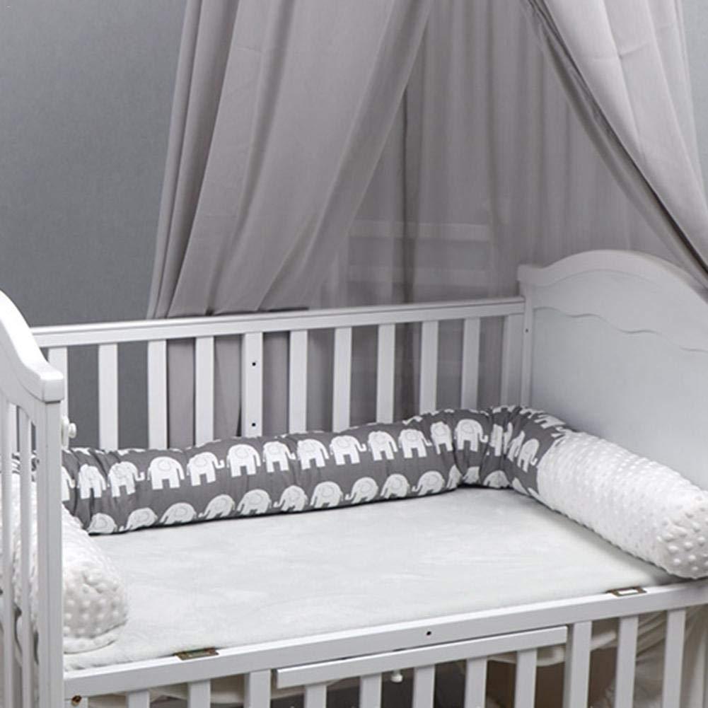 literie lavable en toute s/écurit/é coussin de protection pour oreillers en peluche d/écoration de la chambre de b/éb/é pour nouveau-n/é lit sommeil Bumper traversin de lit de b/éb/é Crib Bumper