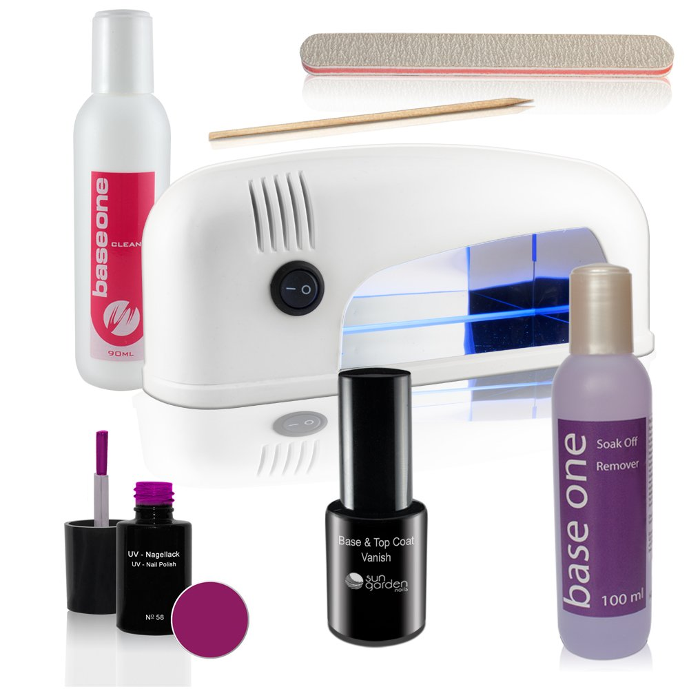 UV Nagellack Set inkl. UV Lampe Travel - Gel Lack: Amazon.de: Beauty