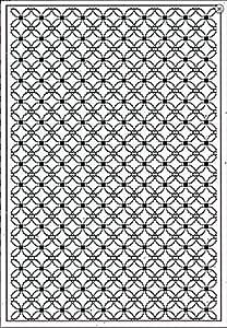 CREATIVE EXPRESSIONS A4 Embossing Folder by Sue Wilson LEAFY QUAD  EF-042 NEW