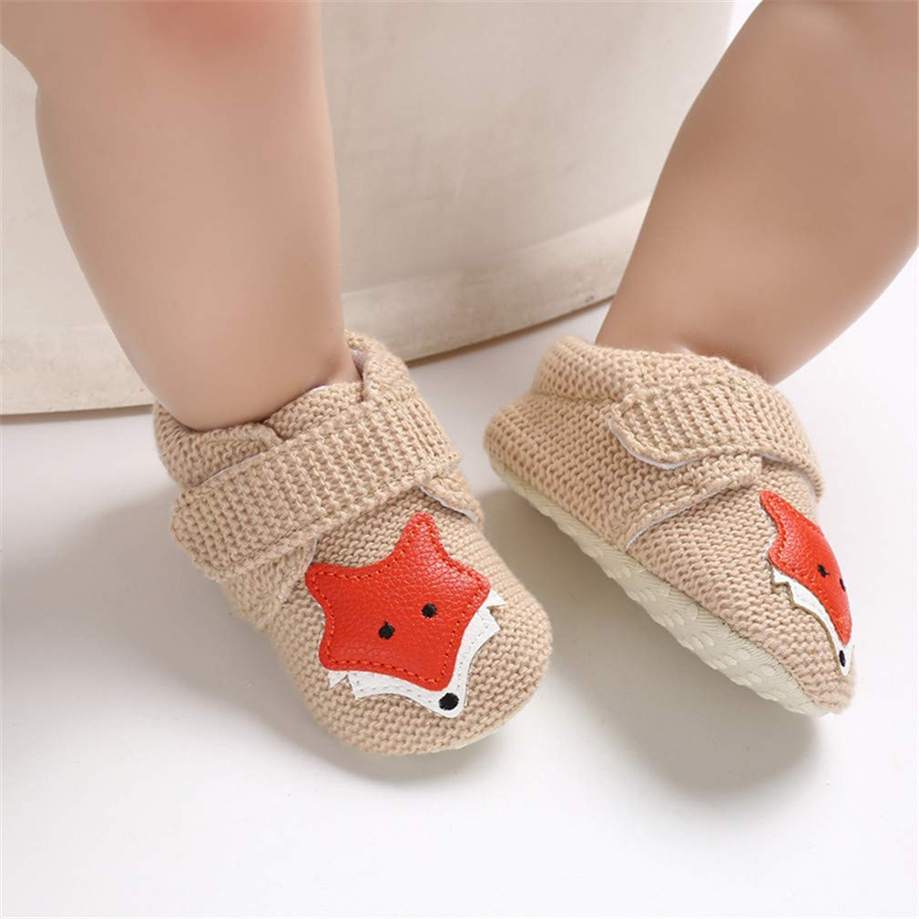 Infant Shoes Baby Girls Boys Soft Sole Slippers Cute Cartoon First Walker Shoes