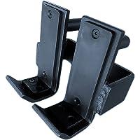 1 paar Squat Rack J-Hooks, Power Cage Safety J-Cups, Sterk staal met nylon beschermpad, Korte lippen, gemakkelijk op te…