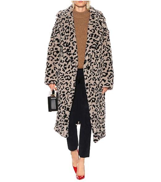 Amazon.com: Chaqueta de peluche para mujer, diseño de ...