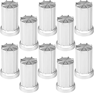 GG Grand General Grand General 10229SP Chrome Plastic 33mm Axis Screw-On Nut Cover for Trucks Trailers and More