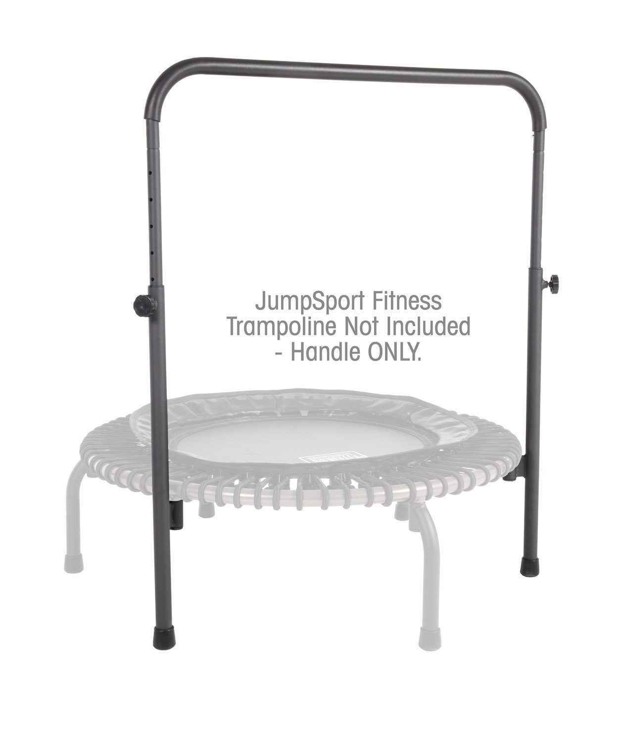 JumpSport Handle Bar Accessory For 44'' Arched Leg Fitness Trampolines | Fits Only 44'' Diameter JumpSport Rebounder | Trampoline Not Included
