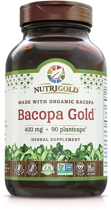 Amazon Com Bacopa Gold 90 Plantcaps Memory Enhancement