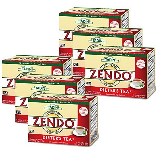 (Tadin Herbal Tea Bags, Zendo Dieters Tea 24 ea ( Pack of 6))