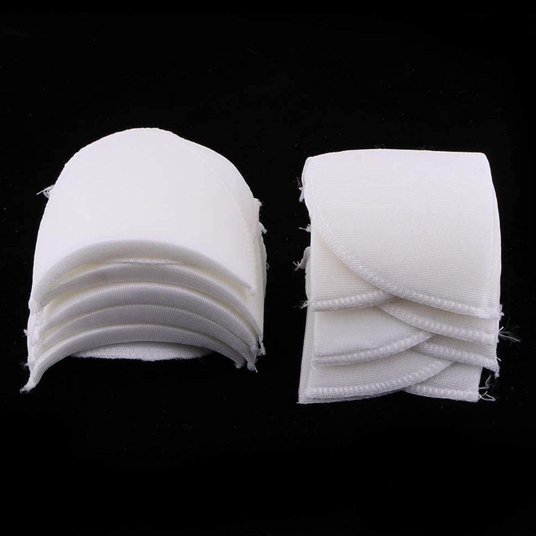 Mousse d/épaulette /Épaulettes en /éponge Support d/épaulettes /Épauli/ères de Costume Pad Push up /épaulette Accessoires de Couture R/éutilisables Super Doux 4 paquets