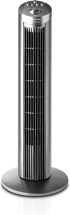 Taurus Babel Ventilador De Torre Sin Control Remoto 3 Velocidades 45w Color Gris Taurus Amazon Es Hogar