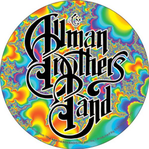- Licenses Products Allman Fractal Logo Sticker
