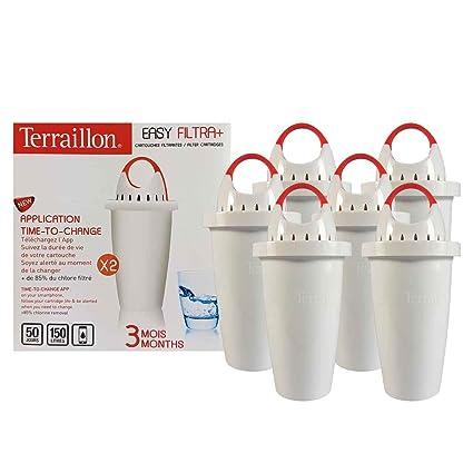 terraillon filtri  6 filtri - EasyFiltra + TERRAILLON: : Casa e cucina