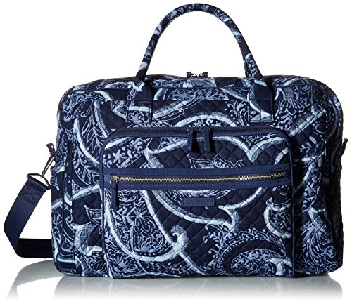 Vera Bradley Iconic Weekender Travel Bag, Signature Cotton, Indio